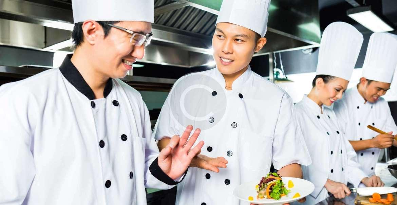 Team Like a Family. Restaurant Staff